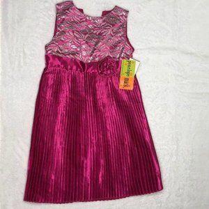 Penelope Mack Sleeveless Party Girls Dress Size 5